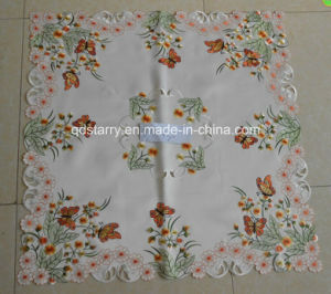 Butterfly Design Table Cloth St1780 pictures & photos