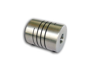 One Piece Spiral Cut Flex Shaft Coupling
