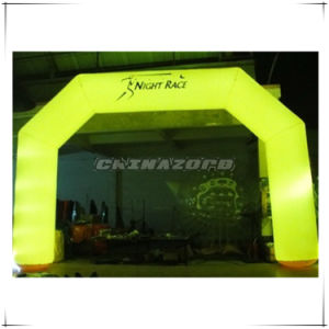 New Custom Made Lighting Inflatable Archway for Sport Games
