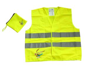 Put Into a Pocket Reiception Reflective Work Vest pictures & photos