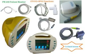 Etco2/SpO2 Patient Monitor (PM 200) pictures & photos