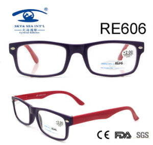 Double Color Handmade Reading Glasses (RE606) pictures & photos