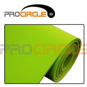 TPE Eco Friendly Yoga Mat Exercise Mat Yoga Accessories (PC-YM4003-4006) pictures & photos