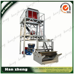 Sjm55-1400 Single Screw PE Film Blowing Machine with Double Winder