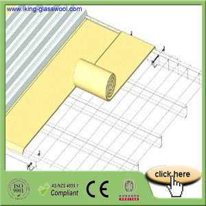 High Quality High- Temperature Glass Wool Blanket pictures & photos