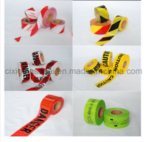 Hot Sale Multicolor PE Warning Tape pictures & photos