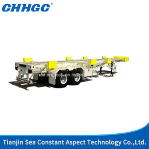 Factory Maritime Transport 30t 3 Axles Container Trailer