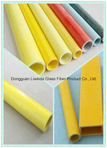 Anti-Corronsion FRP Pipe, Fiberglass Tube, GRP Pole with High Performance