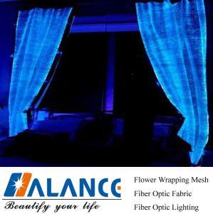 Luminous Fiber Optic Curtains For Window Light