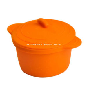 Non-Toxic Folded Silicone Bowl (MY31)