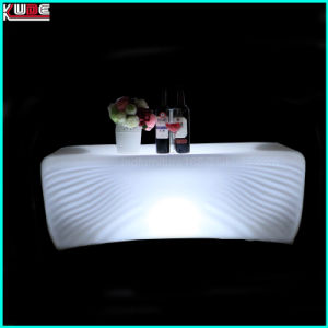 Portable LED Light Bar Counter Table Outdoor Bar Furniture pictures & photos