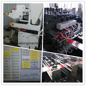 Zd-600tc Multifunction Plastic Central Sealing and Three Side Sealing Pouch Laminated Bag Making Machine pictures & photos