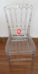 White Color PC Resin Napoleon Chair pictures & photos