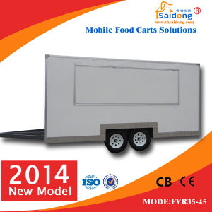 Shanghai Stainless Steel Mobile Food Cart with Wheels for Sale