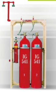 Mixed Gas IG541 Fire System (Inergen) (70L 90L)