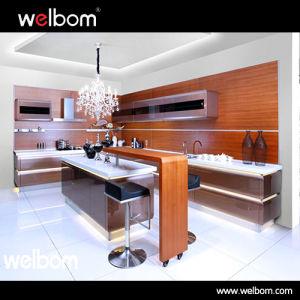 2017 Welbom Customize Best Price High Gloss Modern Kitchen Cabinet Design