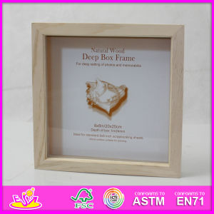 2014 Hot Sale New High Quality (W09A021) En71 Light Classic Fashion Picture Photo Frames, Photo Picture Art Frame, Wooden Gift Home Decortion Frame pictures & photos