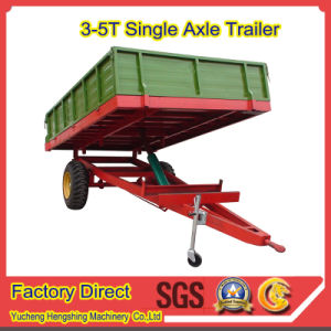 New Europen Sytle Dump Trailer for Farm Machinery pictures & photos