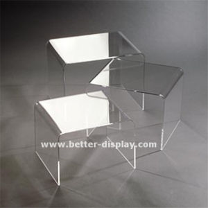 Custom Acrylic Dining Chair with Metal Leg (BTR-Q3002) pictures & photos