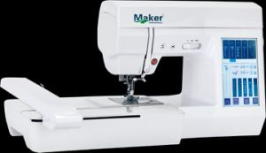 Computerised Embroidery & Sewing Machine with Touch Screen