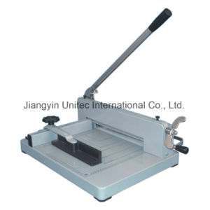 2016 New Products Manual Paper Cutting Guillotine Machine Yg-858