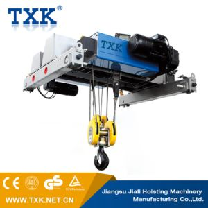 5ton Double Girder Electric Wire Rope Hoist/Cable Hoist pictures & photos