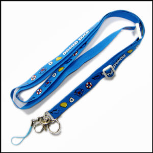Fashion Sublimation Heat Transfer Custom Logo Multicolor Lanyard with New Design pictures & photos