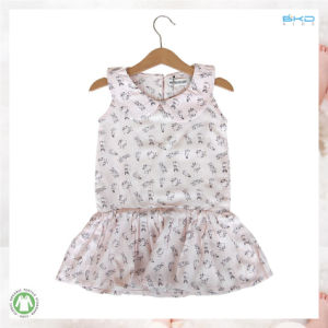 Polo-Neck Baby Clothing Printing Newborn Baby Dress pictures & photos