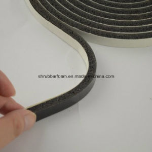 Weather Strip Single Sided PVC Foam Tape pictures & photos
