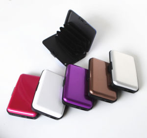 Factory Wholesale Aluminum Credit Card Holder pictures & photos