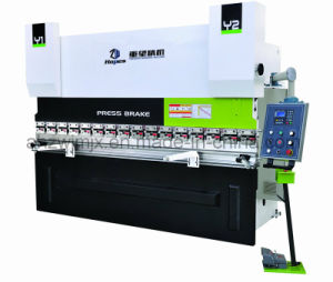 We67k 600t/6000 Dual Servo Electro-Hydraulic CNC Press Brake