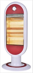 1200W Electric Heater with Quartz Tubes