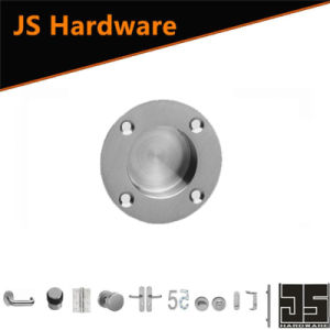 Factory Stainless Steel Flush Pull with Screw Hole on Furniture