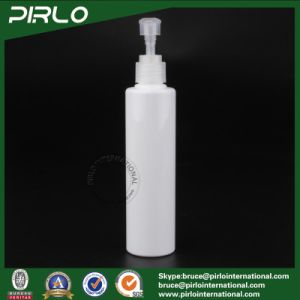 200ml White Color Plastic Bottle with Lotion Pump Cosmetic Skin Care Lotion Bottle pictures & photos