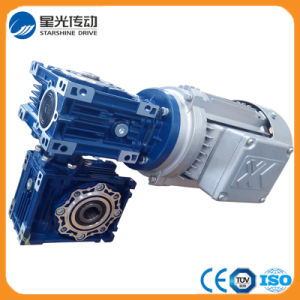 RV Series Worm Double Reduction Gearbox pictures & photos