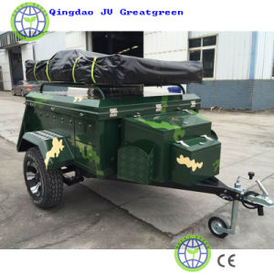 Outdoor Life Use Trailer Tent and Trailer