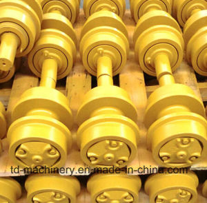 Caterpillar Komatsu Excavator Bottom Roller Friction-Welding Track Roller in China