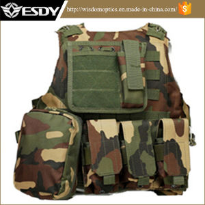 Woodland Camo Military Tactical Combat Molle system Army Vest pictures & photos