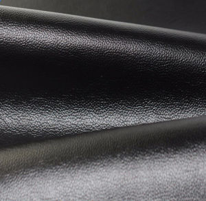 High Quality Microfiber 100% PVC PU Fabric Synthetic Leather for Shoes, Furniture, Home Textile (HS-Y149) pictures & photos