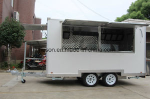 Snack Machines Catering Trailer Mobile Fast Food Trucks for Sale pictures & photos