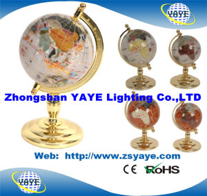 Yaye 18 Gold Plated Zinc Alloy Stand 80mm/110mm/150mm/220mm/330mm World Globe pictures & photos