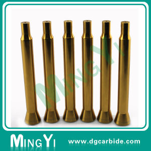 Precision Ground Polished Dowel Pin with Plated Yellow Titanium pictures & photos