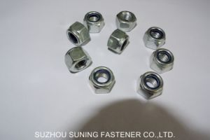 DIN982 Hexagon Nylon Insert Lock Nuts pictures & photos