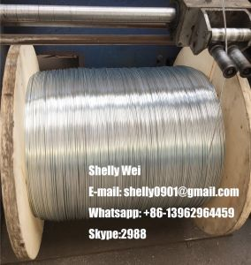 "1/2"" (19X2.54mm) Galvanized Steel Wire Strand pictures & photos"