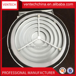 Air Diffuser with Damper Ceiling Vent Cover Round Ceiling Diffuser pictures & photos