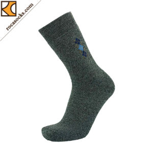 Men′s Winter Full Cushioning Golf Cotton Polyester Blend Socks (162035SK) pictures & photos