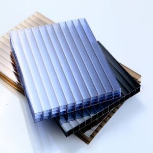 Anti-Fog Multiwall Polycarbonate Sheet Special for Greenhouse Roofing