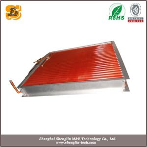 Copper Tube Copper Fin Air Conditioner Condenser pictures & photos