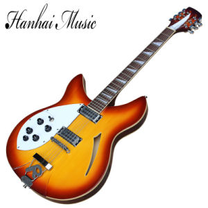 Hanhai Music/Left Handed Ricken Style Electric Guitar with 12 Strings pictures & photos