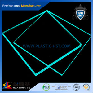 Green Clear Casting Acrylic PMMA Plexiglass Sheet pictures & photos